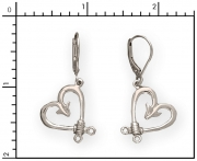 Sterling Silver Fish Hook Earrings